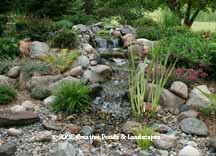 pondless waterfall in Stillwater MN. photo, click to enter gallery