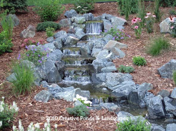 Charmant Photo Of Backyard Pondless Waterfall U0026 Landscape Installation In Woodbury,  ...