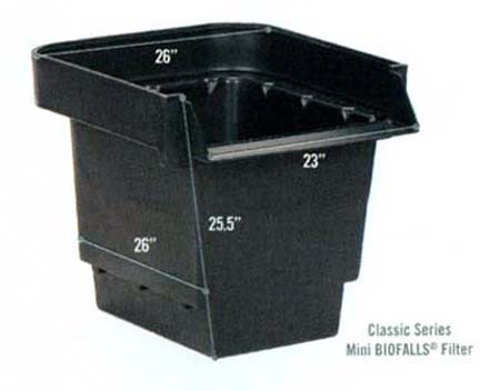 ... Photo Showing The Mini Biofalls Unit From Aquascape Designs Inc.